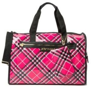 Betsey Johnson BARREL WEEKEND BAG